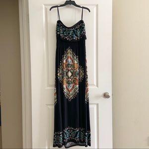 Arden B Black Off the Shoulder Dress Size Large